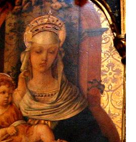 Byzantine Altar Piece Detail