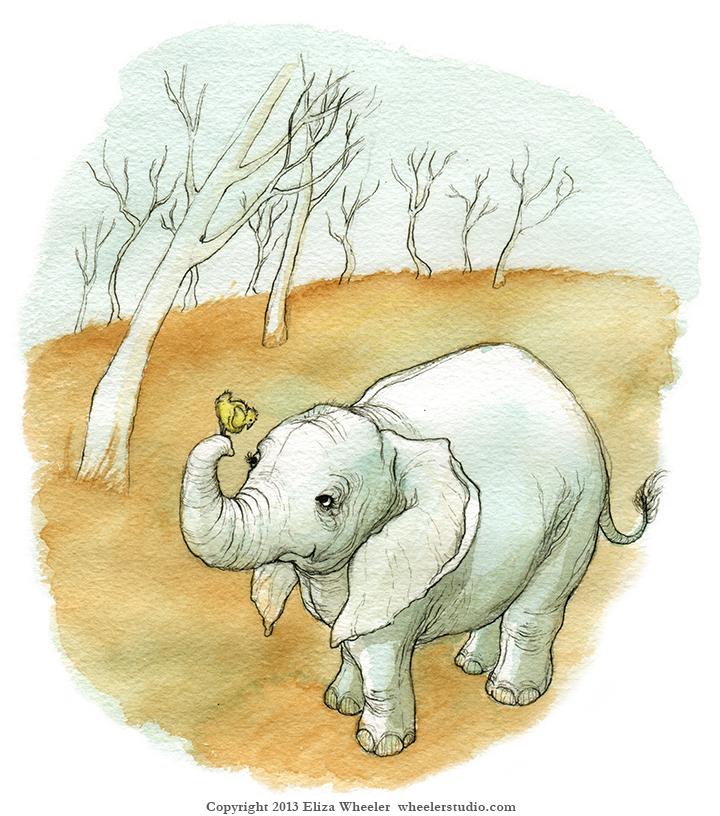 elephant sketch_ewheeler_72dpi_copyr