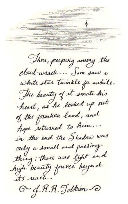 From 'The Return of the King; The Land of Shadow'